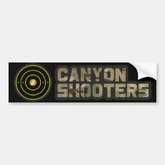 Canyon Shooters Bumper Sticker