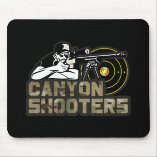 Canyon Shooters Mouse Pad