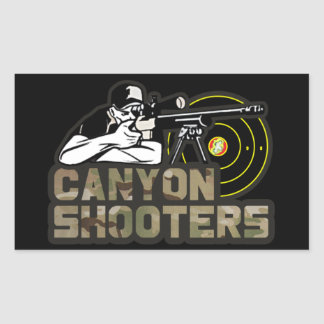 Canyon Shooters Sticker