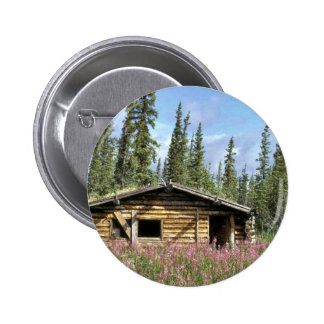 Canyon Village log cabin Buttons