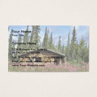 Canyon Village log cabin Business Card