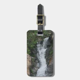 Canyon Waterfall Luggage Tag