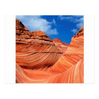Canyon Wave Paria Vermilion Ss Postcard