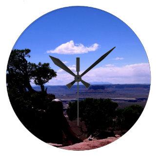 Canyonlands & LaSal Mountains Large Clock