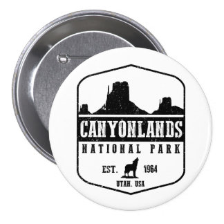 Canyonlands National Park 7.5 Cm Round Badge
