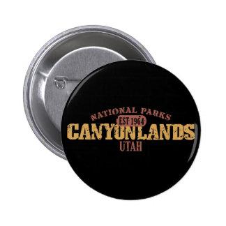 Canyonlands National Park Pinback Buttons