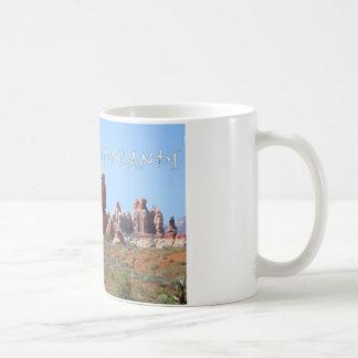Canyonlands National Park Basic White Mug