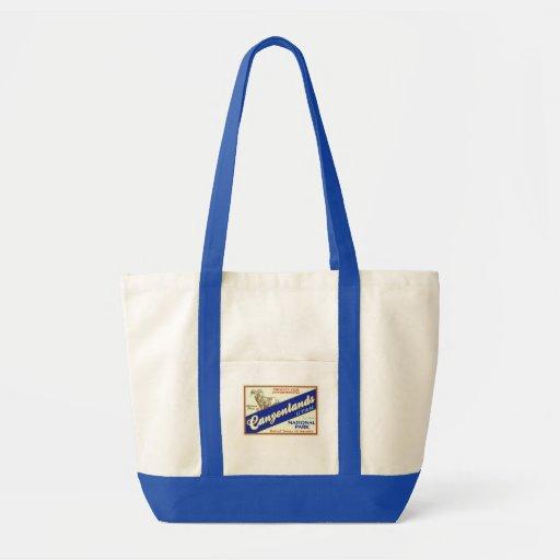 Canyonlands National Park  (Bighorn) Canvas Bags