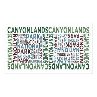 Canyonlands National Park Business Cards