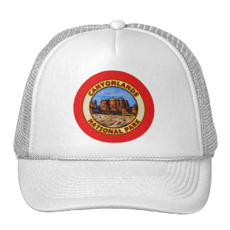 Canyonlands National Park Mesh Hat