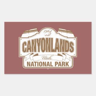 Canyonlands National Park Rectangular Sticker