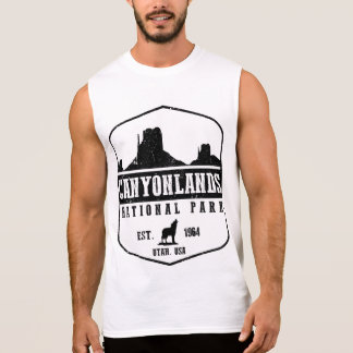 Canyonlands National Park Sleeveless Shirt