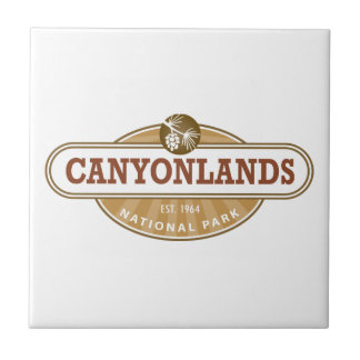 Canyonlands National Park Small Square Tile