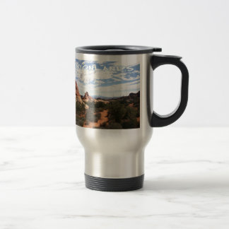 Canyonlands National Park Stainless Steel Travel Mug