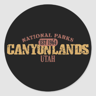 Canyonlands National Park Stickers