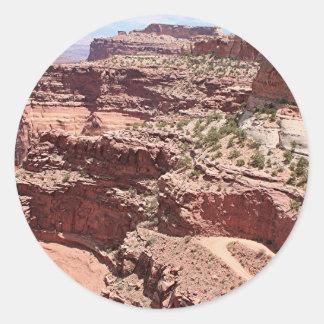 Canyonlands National Park, Utah, Southwest USA 3 Round Sticker