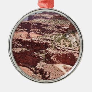 Canyonlands National Park, Utah, Southwest USA 3 Silver-Colored Round Decoration