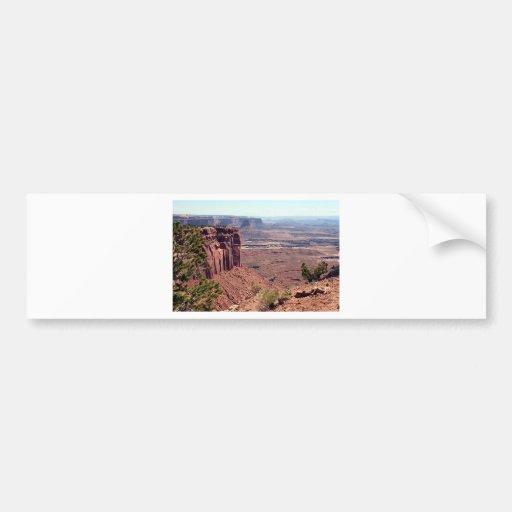 Canyonlands National Park, Utah, Southwest USA 4 Bumper Stickers