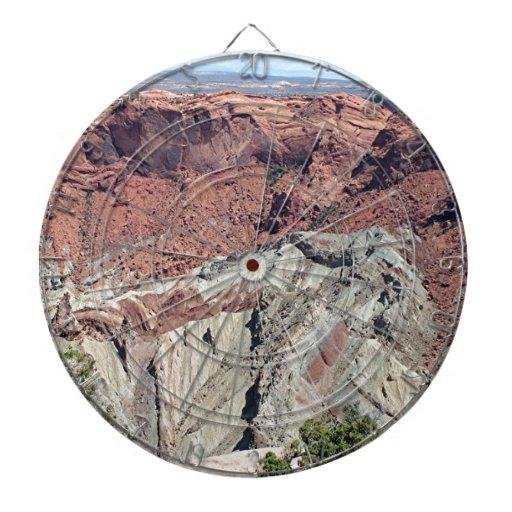 Canyonlands National Park, Utah, Southwest USA 5 Dartboard With Darts