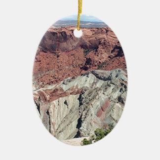 Canyonlands National Park, Utah, Southwest USA 5 Ceramic Oval Decoration