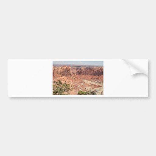 Canyonlands National Park, Utah, Southwest USA 6 Bumper Stickers