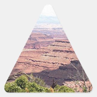 Canyonlands National Park, Utah, USA 11 Triangle Sticker