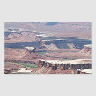 Canyonlands National Park, Utah, USA 8 Rectangle Stickers