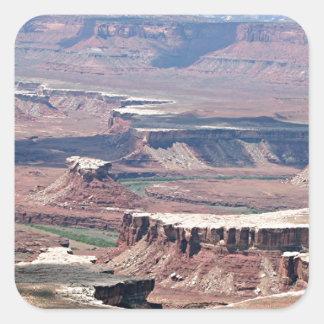 Canyonlands National Park, Utah, USA 8 Square Sticker