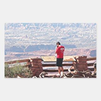Canyonlands National Park, Utah, USA 9 Rectangular Stickers
