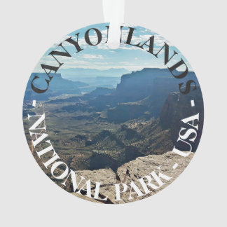 Canyonlands National Park Utah USA travel Ornament