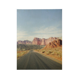 Canyonlands National Park Wood Poster