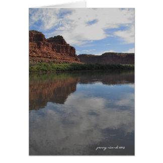 Canyonlands on the Colorado River Card