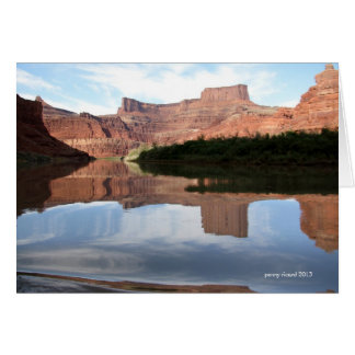 Canyonlands on the Colorado River Note Card