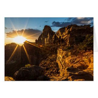Canyonlands Sunset II Card