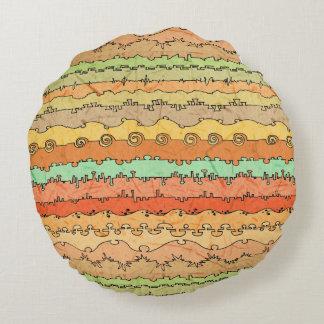 Canyonlands Veldt Round Cushion