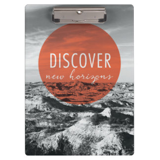 Canyons | Discover New Horizons Quote Clipboard