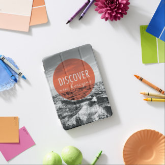 Canyons | Discover New Horizons Quote iPad Mini Cover