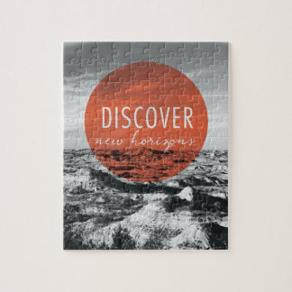 Canyons | Discover New Horizons Quote Jigsaw Puzzle