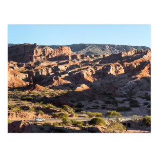Canyons Of Salta Province Postcard