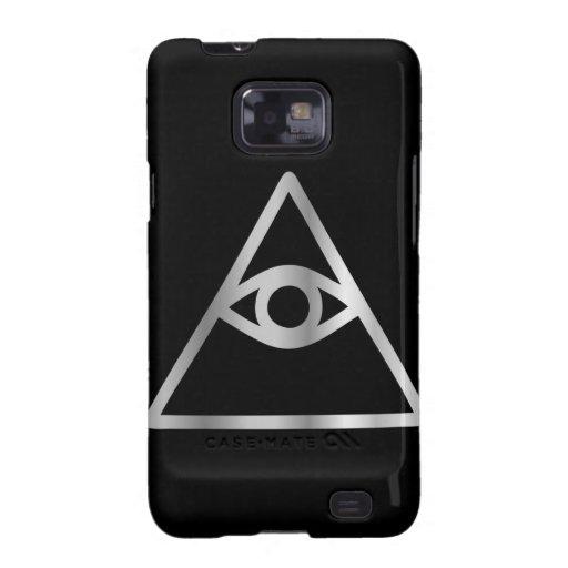 Cao dai Eye of Providence- Religious icon Samsung Galaxy SII Case