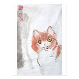 Cao Kitty Postcard