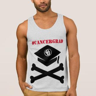 Cap and Crossbones #CancerGrad Men's Tank