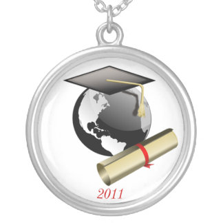 Cap and Diploma Necklace