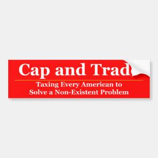 Cap and Trade 3 Bumper Sticker
