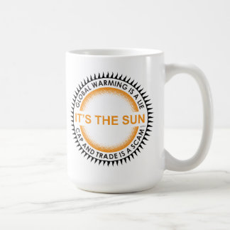 Cap And Trade Is A Scam Basic White Mug