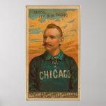Cap Anson, Chicago White Stockings Print