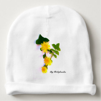 Cap Baby disño flowers daisies Baby Beanie