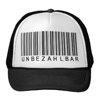 """Cap """"bar code black PRICELESS """""""