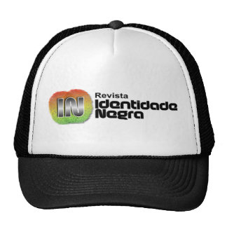 Cap Black Identity - Modelo Trucker Mesh Hats