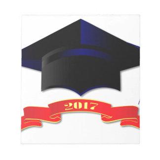 Cap Class Of 2017 Notepad